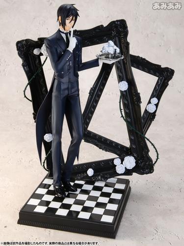 ARTFX J - Black Butler: Book of Circus: Sebastian Michaelis 1/8 Complete Figure